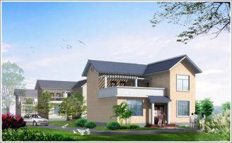 Китай Дом Woden 2 рассказов светлый стальной полуфабрикат, дом белого Prefab стальной для жить поставщик