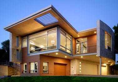 Роскошный полуфабрикат стальной дом/дом ETC металла Prefab железного каркаса света