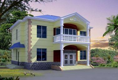 Китай Дом Prefab сертификата CE стальной, светлая вилла дома стальной структуры дистрибьютор