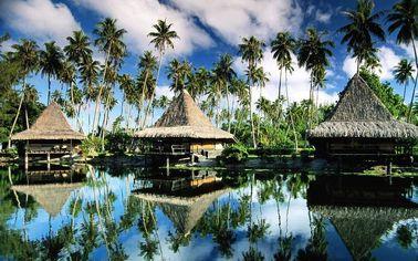 Бунгало Бали Префаб полуфабрикат, бунгало Оверватер для курорта Мальдивов