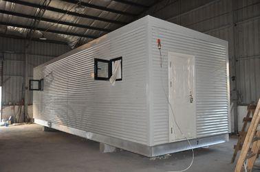 Китай Дома Prefab железного каркаса модульные, передвижное караульное помещение для жить людей дистрибьютор