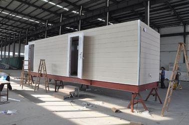 Китай Дом кабины Prefab передвижной/дома Prefab железного каркаса модульные для караульного помещения дистрибьютор