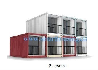 Китай Дома контейнера Prefab ISO 40HQ модульные, контейнеры для перевозок доказательства воды самонаводят дистрибьютор