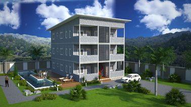 Жилые дома стальной структуры SOHO полуфабрикат, полуфабрикат квартиры