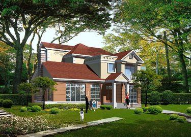 Китай Полуфабрикат светлая вилла стальной структуры датчика, стальные панельные дома дистрибьютор