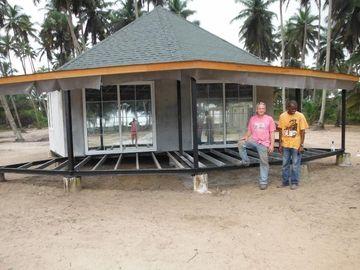 Новое бунгало Бали Prefab конструкции, бунгала Overwater для взморья